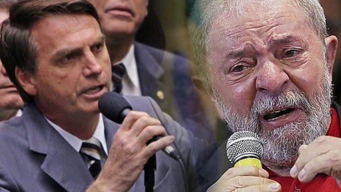 Bolsonaro Lula