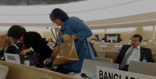 Damares na ONU