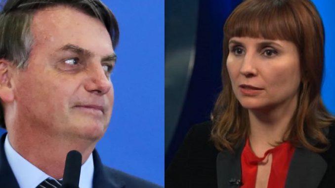 Petra Costa e Bolsonaro