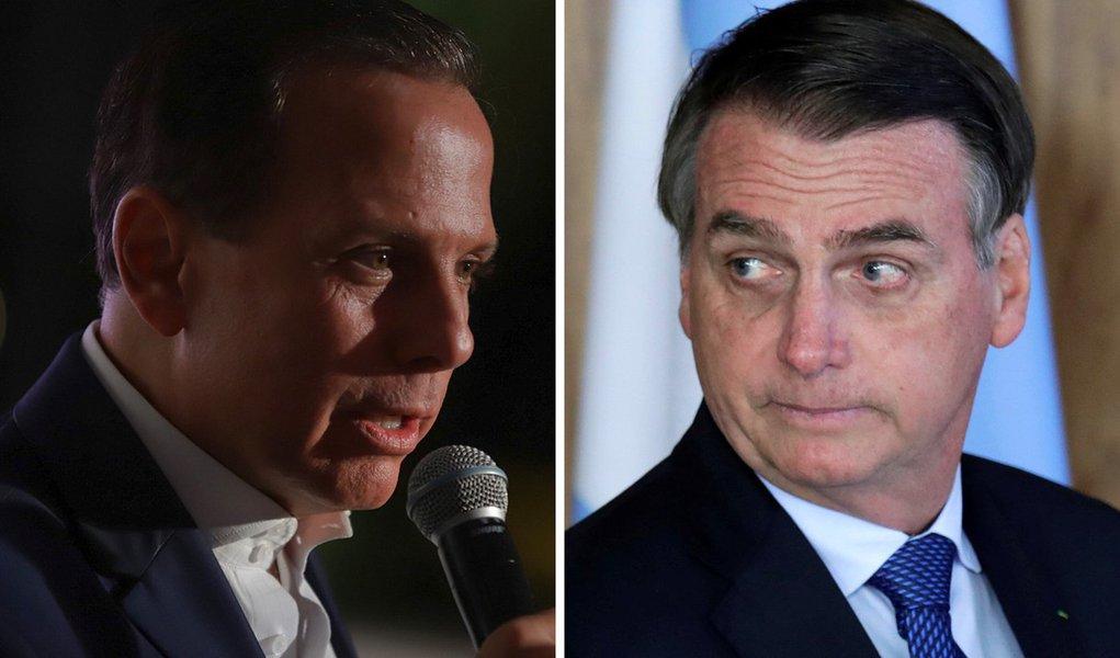 João Doria se rende e elogia decisão de Bolsonaro em efetivar General Pazuello na Saúde