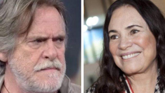 Zé de Abreu e Regina Duarte
