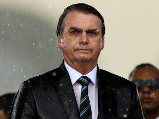 Bolsonaro chuva