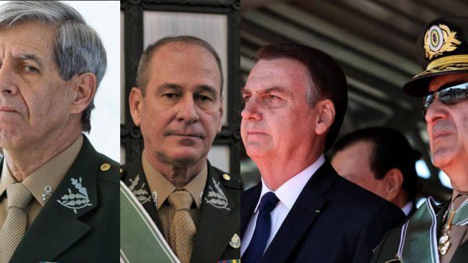 Bolsonaro e Generais