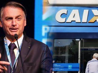 Bolsonaro Caixa