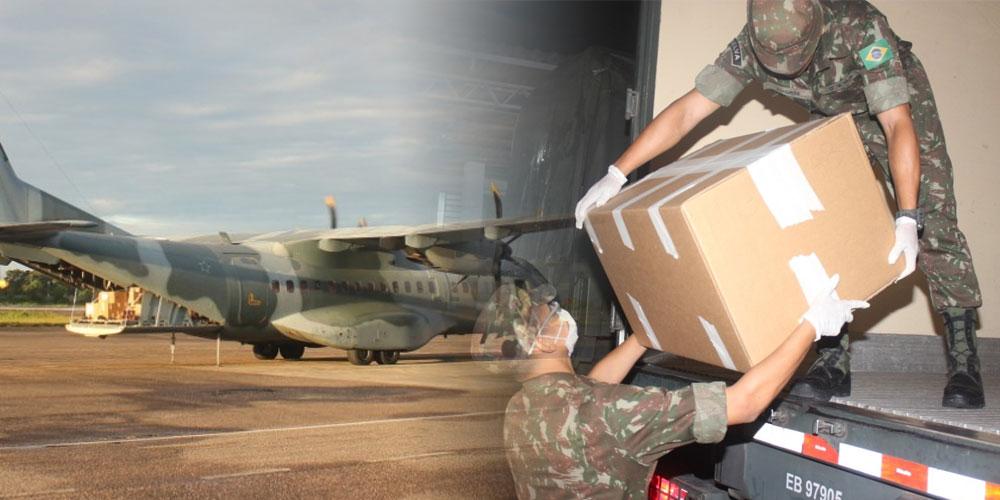 Exército envia 8.000 doses de Cloroquina para tratamento do ...