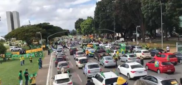 Manifestação Brasília
