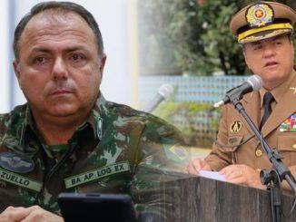 Pazuello e Coronel