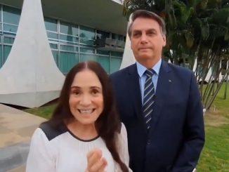 Regina e Bolsonaro