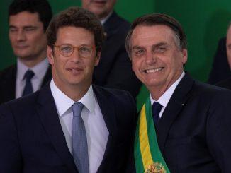 Ricardo Salles e Bolsonaro