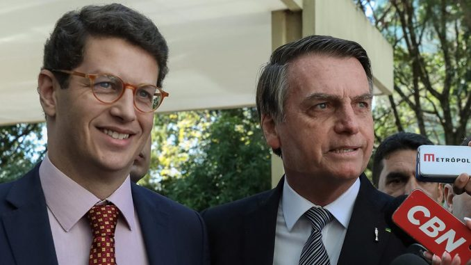 Salles e Bolsonaro
