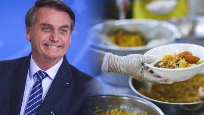 Bolsonaro alimentação