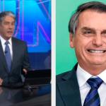 Bonner e Bolsonaro