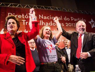 Gleisi Dilma Lula
