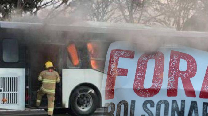 ônibus fogo