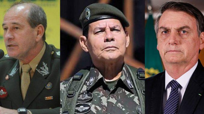 Generais e Bolsonaro