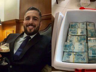 Dinheiro caixa térmica