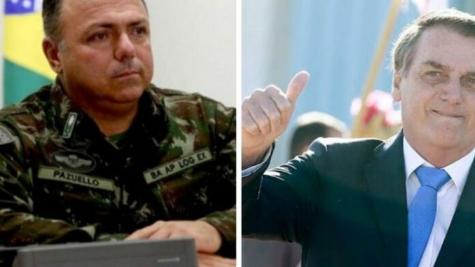 Pazuello Bolsonaro