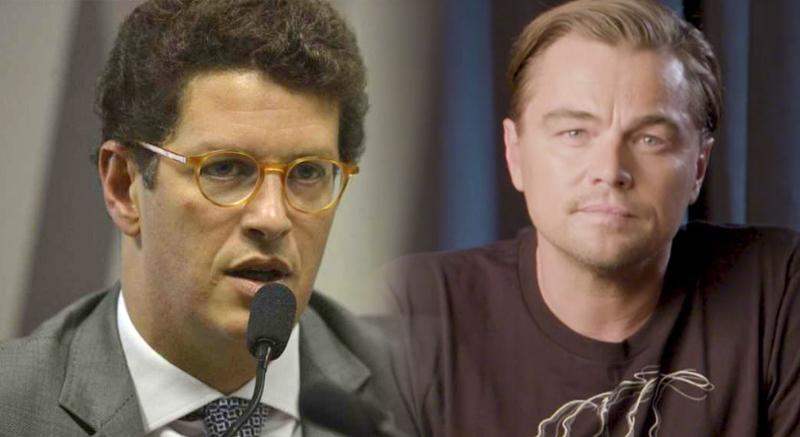 Salles rebate DiCaprio sobre Amazônia: 'Vai ajudar ou só ficar falando?'