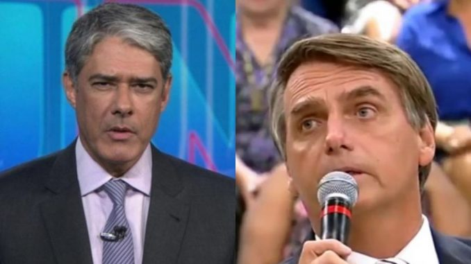 Bolsonaro e Bonner