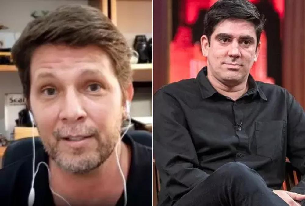 """Mário Frias eleva o com contra Adnet: """"Garoto frouxo e sem futuro. Palhaço decadente!"""""""