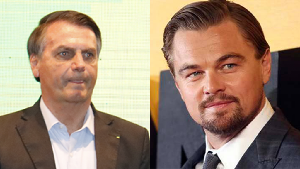 """Leonardo diCaprio declara a guerra a Bolsonaro: """"A Amazônia está pegando fogo novamente, Bolsonaro permitiu"""""""