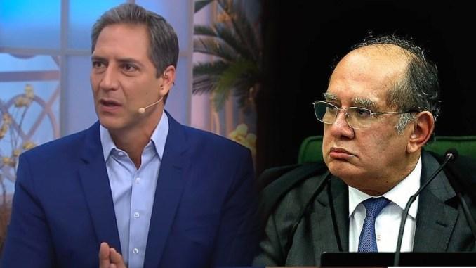 Lacombe e Gilmar Mendes