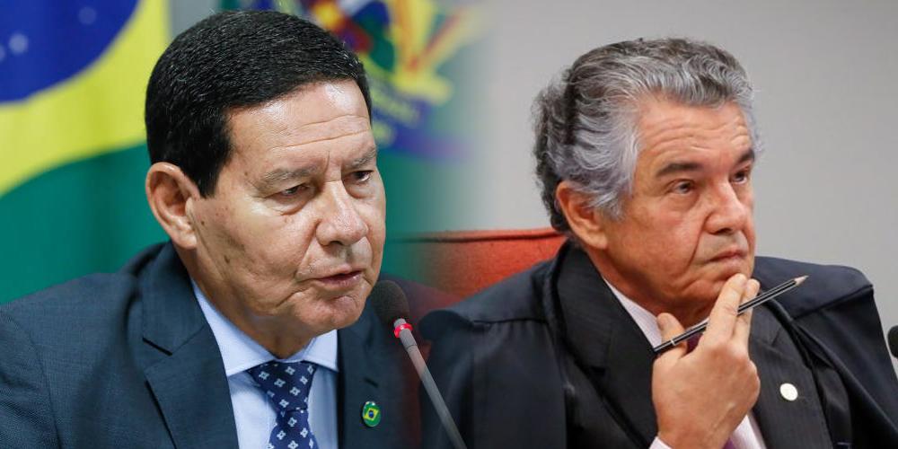 General Mourão critica Marco Aurélio por soltura de chefão do PCC