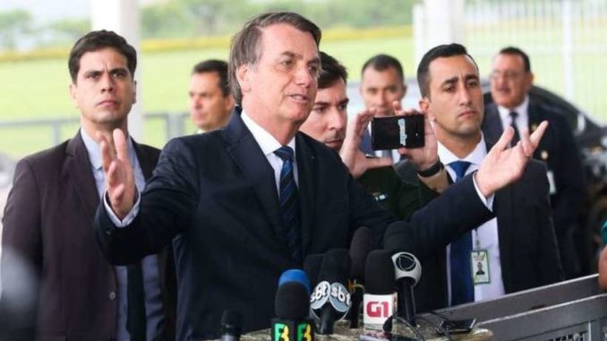 Bolsonaro imprensa