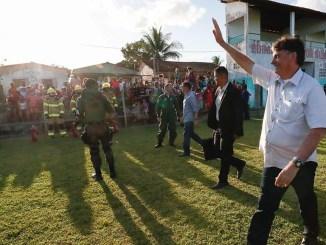 Bolsonaro facão